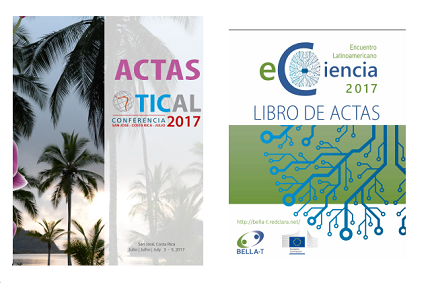 Review and download the Minutes of TICAL2017 and the Latin American e-Science Meeting
